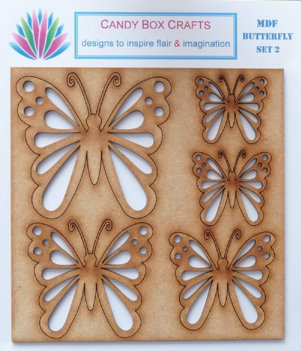 Butterfly Embellishments Set 2